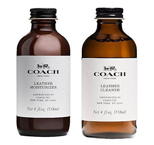 Coach Leather Handbag Moisturizer and Cleaner Set