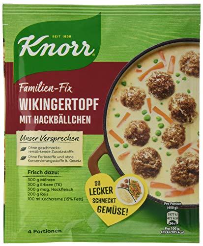 Knorr Fix Wikingertopf mit Hackbällchen 3 Portionen (23 x 30 g)