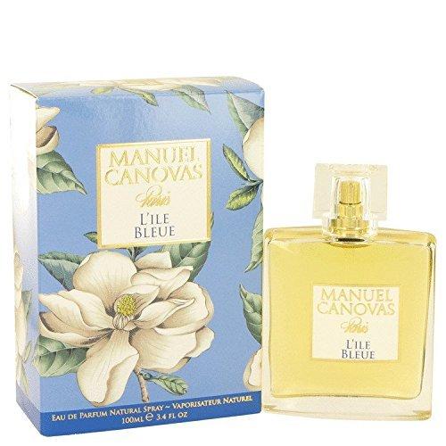L'ile Bleue by Manuel Canovas Eau De Parfum Spray 3.4 oz for Women by Manuel Canovas