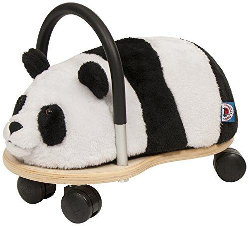 Trotteur Wheely Bug Panda multi-directionnel, petit modèle 1 à 3 ans, corps en bois sur roues, très résistant, excellente qualité, des heures d'amusement garanties !