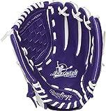 Rawlings Fastpitch Series Softball Glove, 11.5 inch, Basket Web, Right Hand Throw, Purple/White...