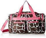 Best Bag For Diapers - Rockland Duffel Bag, Pink Giraffe, 19-Inch Review