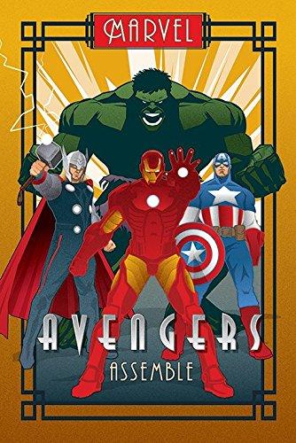 captain america iron man poster - 6
