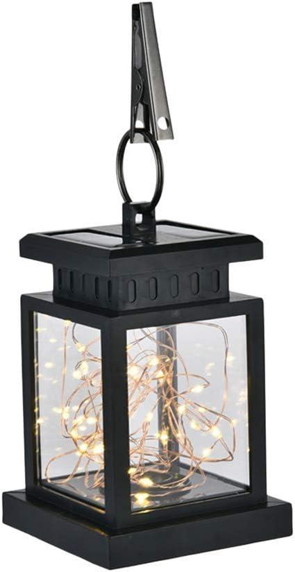 JYTFZD Conveniently Solar New sales Powered Glass Gard Max 69% OFF Jar Lantern Outdoor