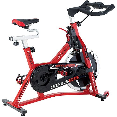 JK FITNESS JK535 Indoor Cycle, Rosso
