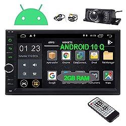 cheap EINCAR Android 10.0 Car Radio Dashboard 7 inch Dual DIN Car Radio with GPS Navigation…