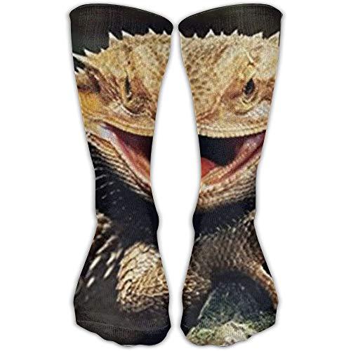remmber me Unisex Classics Socken Bearded Dragon Lizards Athletic Stockings 30cm Lange Socke One