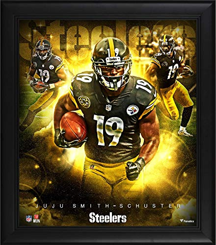 Juju Smith-Schuster Pittsburgh Steelers Framed 15' x 17' Stars of the Game Collage - NFL Player Plaques and Collages