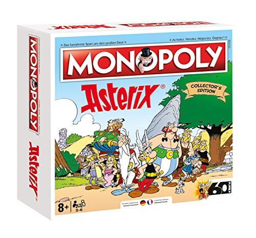 Monopoly Asterix - Gesellschaftspiel für Erwachsene und Kinder | Limited Collector Edition | Das beliebte Bettspiel für Fans - Ab 8 Jahren für 2-6 Spieler