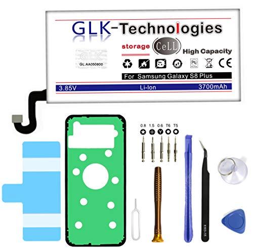 High Power Ersatzakku für Samsung Galaxy S8 + Plus SM-G955F EB-BG955ABE Akku   Original GLK-Technologies Battery   accu   3700 mAh Akku   inkl. Werkzeug Set Kit
