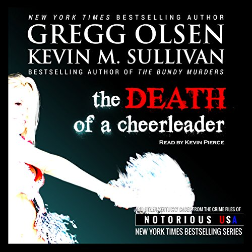Death of a Cheerleader  audiobook cover art