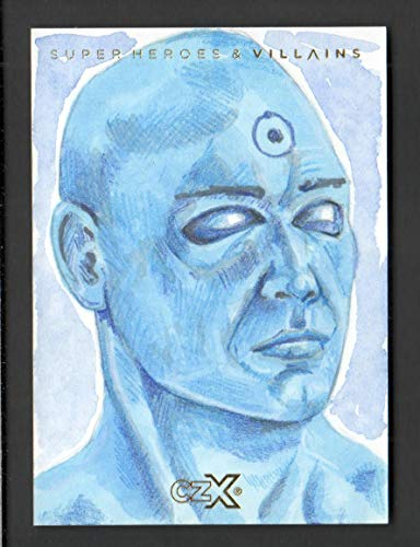 2019 CZX Super Heroes and Super-Villains Sketch Card Nick Allsopp 1/1