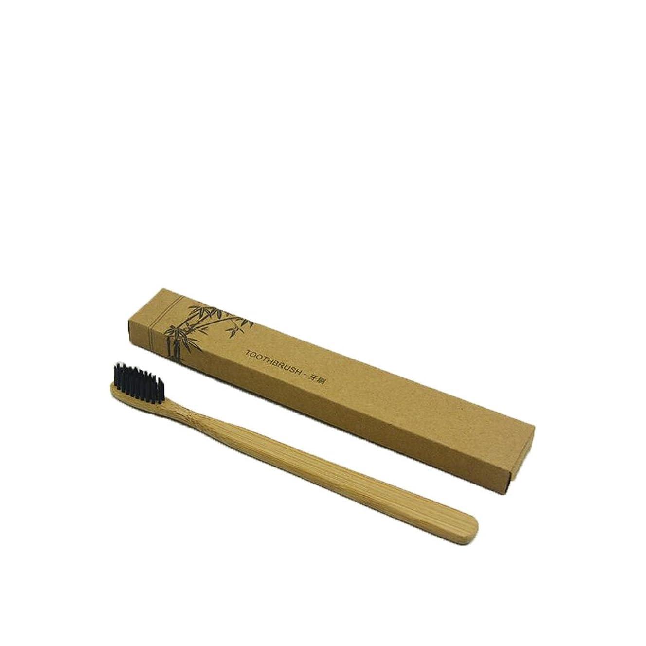 ローラーとまり木均等にNerhaily 竹製歯ブラシ ミディアム及びソフト、生分解性、ビーガン、バイオ、エコ、持続可能な木製ハンドル、ホワイトニング 歯 竹歯ブラシ