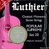 LUTHIER ルシエール クラシックギター弦 フロロカーボン LU-20-CT