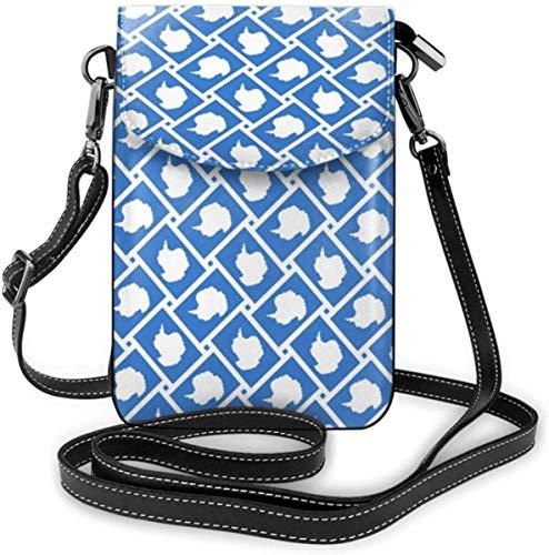 Handy Geldbörse Kleine Crossbody Antarktis Flagge Weben Brieftasche Taschen Mit Verstellbaren Schultergurt Frauen
