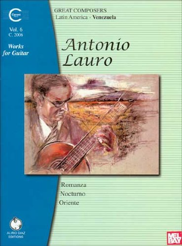 Price comparison product image Antonio Lauro: Works for Guitar,  Volume 6