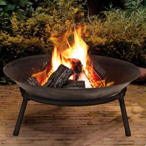 Gietijzeren vuurschaal, haard, tuin, outdoormand, modern Fire Pit