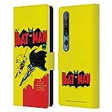 Head Case Designs Licenciado Oficialmente Batman DC Comics Número 1 Fundas de cómics Famosas Carcasa de Cuero Tipo Libro Compatible con Xiaomi Mi 10 5G / Mi 10 Pro 5G