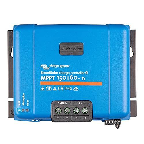 Victron Energy SmartSolar MPPT Tr 150V 60 amp 12/24/36/48-Volt Solar Charge Controller (Bluetooth)