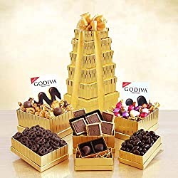 Height of Indulgence Godiva Gift Tower