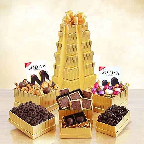 California Delicious Golden Godiva Tower Gift Set