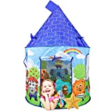 Powcan Tienda de campaña Infantil, Interior Tiendas de Juego para Niños al Aire Libre Portable Gran Playhouse Casa de Juegos para Interiores y Exteriores