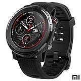 Xiaomi Amazfit Stratos 3 Smartwatch Fitness | 19 modalit sportive | 3 GPS | 70 giorni batteria (oro) | Sensore BioTracker | Notifiche intelligenti, GPS Globass Beidou & Galileo (Professionale)