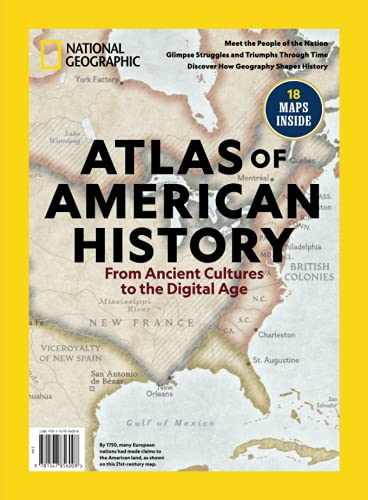 Compare Textbook Prices for National Geographic Atlas of American History  ISBN 9781547856008 by Daniels, Patricia S.