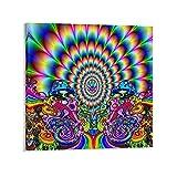SUNYI Trippy Psy Trance Poster, dekoratives Gemälde,