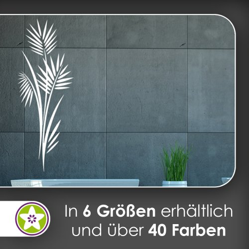 Kiwistar Bambus - Pflanze - Gras Wandtattoo in 6 Größen - Wandaufkleber Wall Sticker