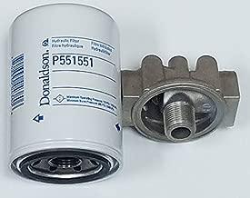 Hydraulic Filter Kit Donaldson P561134 Head & P551551