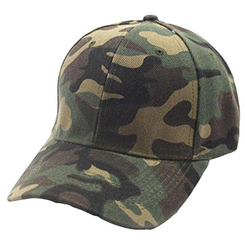 Btruely Baseball Kappe Camouflage Unisex Baseball Cap Kappe Einstellbar Basecap