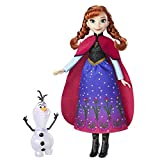 Includes doll, outfit, Olaf figure, and pair of shoes. Doll comes in a beautiful, shimmering gown Includes Olaf figure Also available Northern Lights Elsa (sold separately) Doll does not stand on its own. Doll comes in a beautiful, shimmering gown In...