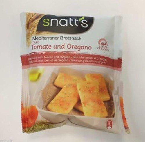 60 Beutel Snatts Brotsnack Tomate Oregano 35g 2,1kg