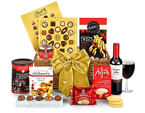 Cotswold Hamper With Red Wine