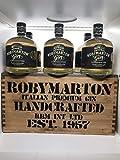 Robymarton Gin - Special box in legno con 6 bottiglie - Italian Premium Dry - Distillato e Imbottigliato in Italia - 0,7l (6)