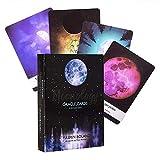 Moonology Oracle Baraja de Cartas Mensajes de sabiduría Tu ángel Diosa Poder Trabajo Mantener la luz Espíritu Animal Ancestros la luz Mística