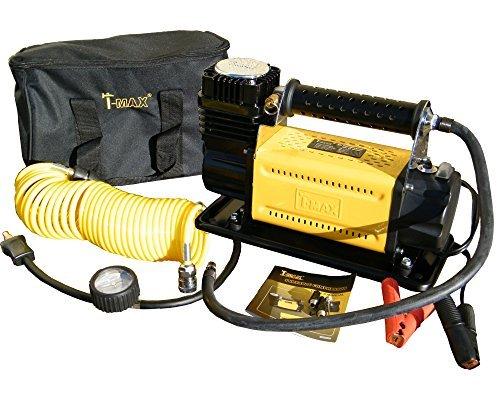 T-MAX Heavy Duty 12V Air Compressor Adventurer 4x4 Off Road Tyre Pump - BA2663