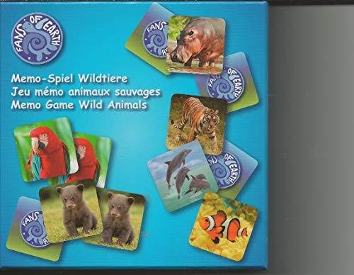 BRUNNEN Memo - Spiel FOE Memory 80 Teile Wildtiere