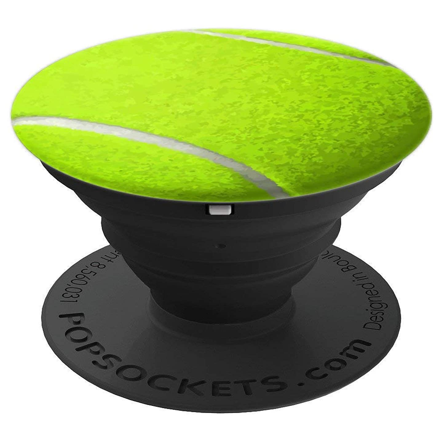 Tennis Ball Smart Device Accessory for Tennis Fans - PopSockets Grip and Stand for Phones and Tablets