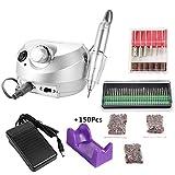 KKmoon 30000RMP Ongle Machine à Manucure, Kit de Polissage des Ongles, Ponceuse à Ongle Manucure, Manucure...