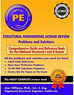 Structural Engineering License Review: Problems and Solutions