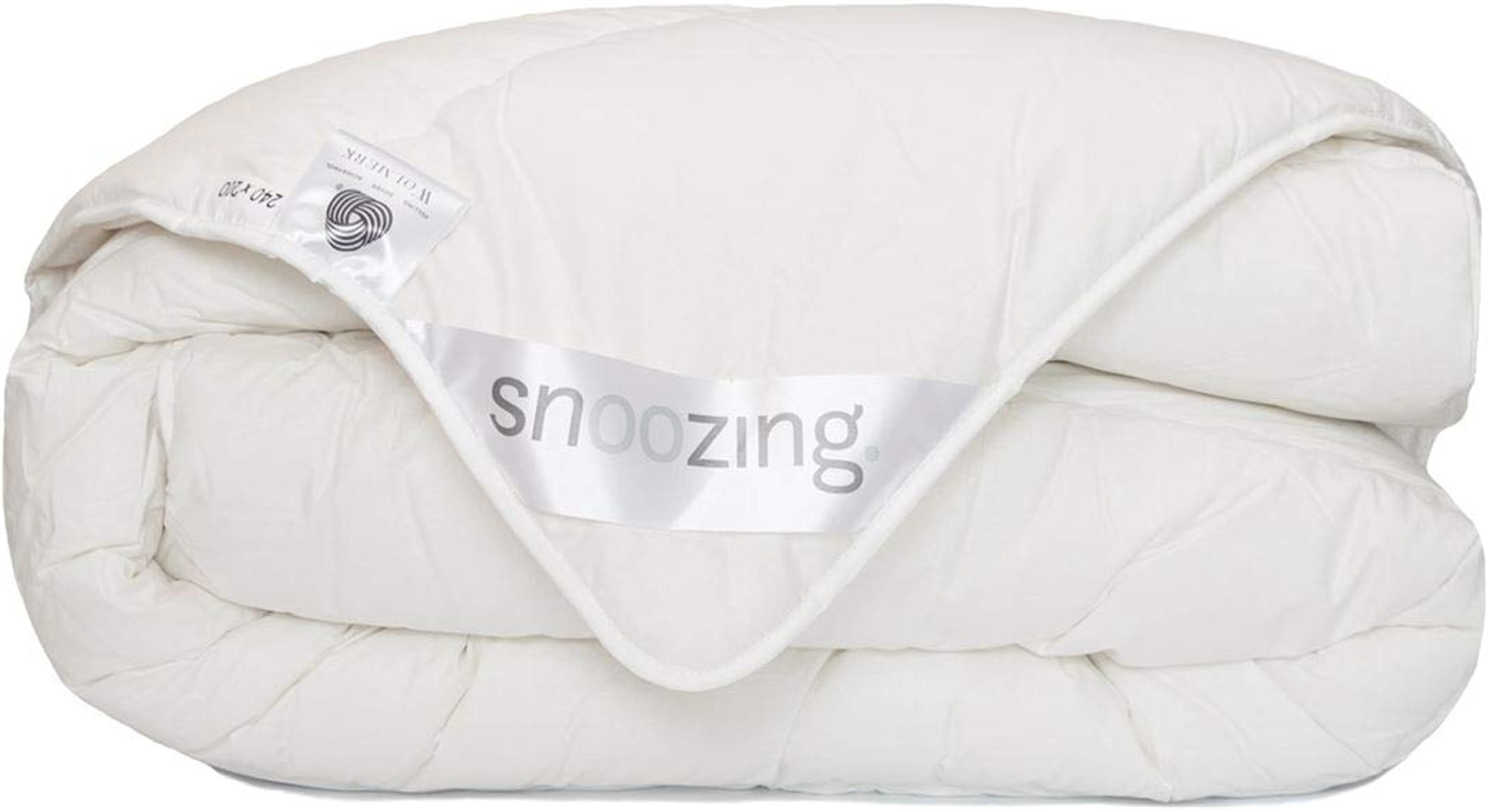 Snoozing Texel Couette 200x200 cm Blanc