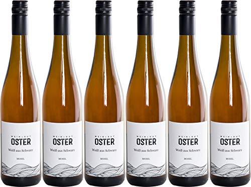 Oster Spätburgunder Weißherbst Weiß aus Schwarz 2020 Trocken (6 x 0.75 l)