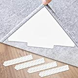 Rug Gripper, 12 Pcs Double Sided Anti Curling Non...