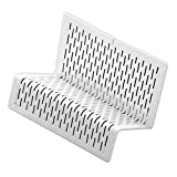 Artistic Urban Collection Punched Metal Business Card Holder, White (ART20001WH)
