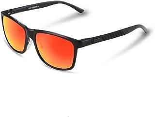 d04e5d450e Sunglasses Gafas de Sol Hombre, protección radiológica Anti-UV Protección  Ocular Sombras Wayfarer Gafas