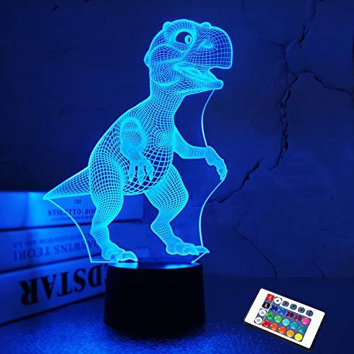 Luce notturna 3D per bambini a forma di delfino, con 7 colori cangianti, ideale come regalo di Natale o di compleanno
