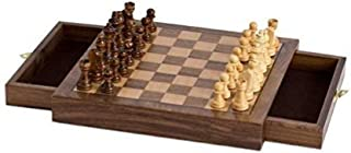 CHH Imports Magnetic Walnut Cafe Chess Set