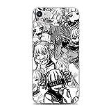 Transparent Slim Liquid Flexible Fundas Soft Case Back Cover for Apple iPhone 7/8/SE 2020-Anime Himiko-Toga Smile 8